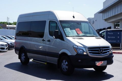 Pre-Owned 2014 Mercedes-Benz Sprinter Passenger Van Rear Wheel Drive Minivan/Van