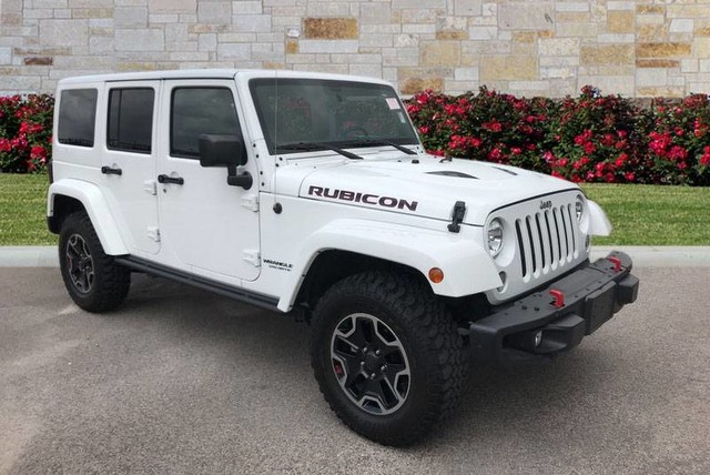 Pre Owned 2016 Jeep Wrangler Unlimited Rubicon Nav Hardtop